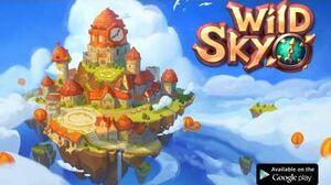 Wild Sky Tower Defense - Legendary Hero RPG Game!