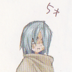 Concept art of Janus as 5 years old, from <i>Wild Arms Advanced 3rd Complete Guide</i>