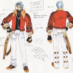 Concept art from  <i>Wild Arms Advanced 3rd Complete Guide</i>