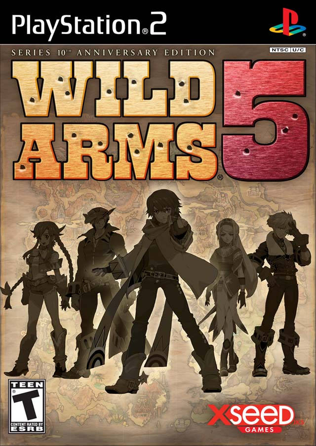 Cover Wild Arms 5 US