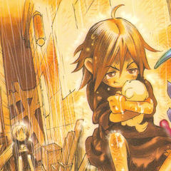 Image from a Janus focused comic in the back of <i>Wild Arms Advanced 3rd Complete Guide</i>
