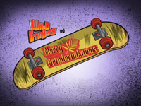 Merry Grindernukamus Title Card