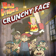 Crunchy Face Poster