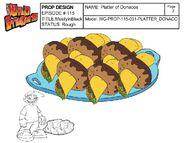 Platter of Donacos