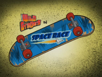 Space Race Title Card