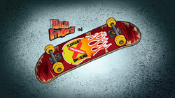 Xtraordinary Sk8ters Title Card