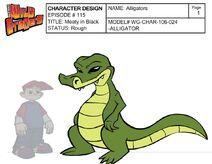 Alligator Profile