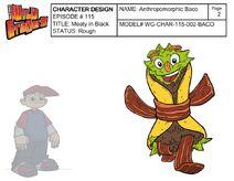 Anthropomorphic Baco Profile
