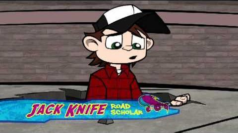 Wild Grinders Behind the Skater - Jack Knife