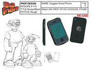 Goggles' Smart Phone