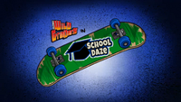 School Daze Title Card