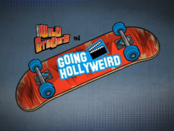 Going Hollyweird Title Card