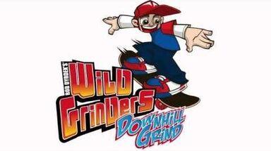 Rob Dyrdek's Wild Grinders New Skate Game - Wild Grinders Downhill Grind