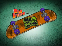 Wild Zombies Title Card