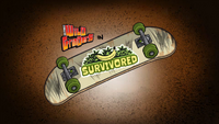 Survivored Title Card