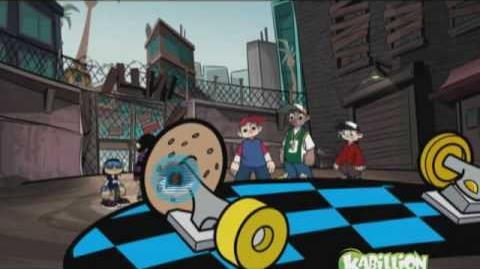 Rob Dyrdek's Wild Grinders - Jack Knife - Animated!