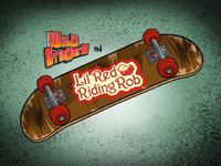 Lil Red Riding Rob Title Card