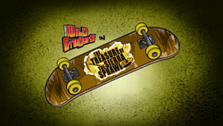 The Treasure of the Sierrra Sprawl Title Card