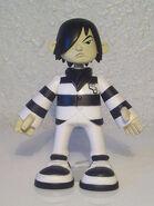 Emo Crys Black-White Stripes