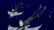 Bros Diving Down