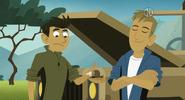 Martin gives Chris Snail