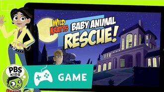 WILD KRATTS Baby Animal Rescue Game Trailer PBS KIDS