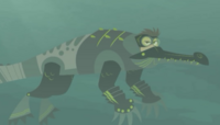 Gharial power suit