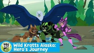 WILD KRATTS Wild Kratts Alaska Hero's Journey Premieres July 24th on PBS KIDS! PBS KIDS
