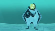 Flounder Creature Power Suit