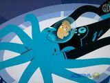 Giant Squid Creature Power Suit