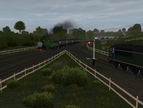 Drizzly evening at ballahoo junction by wildnorwester-d8tlyb1