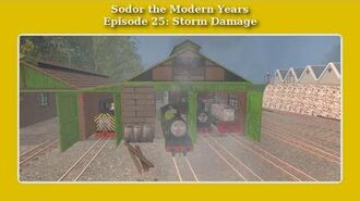 Sodor the Modern Years Storm Damage