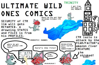 ULTIMATE WILD ONES COMICS trinity