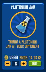 Plutonium jar