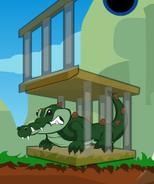 Aligator cage4
