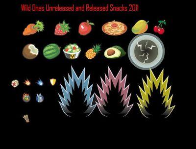 Unreleased Snacks