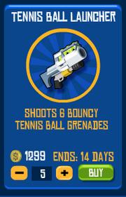 Tenisballshower