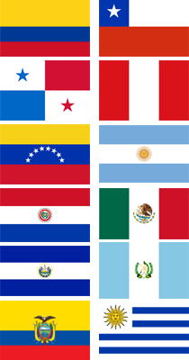 image latin america flags png wild ones wiki fandom powered by