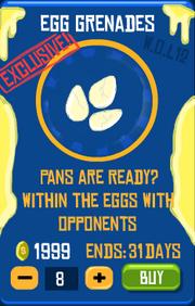 Egg Grenades