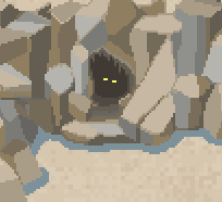 The Mysterious Eyes in the Cave