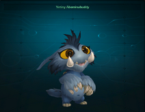 Yetiny Abominabuddy pet