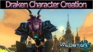 WildStar - Character Creation Draken Male and Female