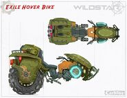 Concept WS Exile HoverBike