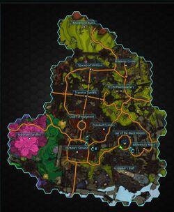 Thayd map
