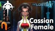 WildStar - Dominion - Cassian Female, Character Creation