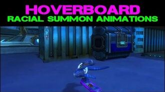 WildStar Hoverboard - Racial Summon Animations