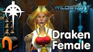 WildStar - Dominion - Draken Female, Character Creation