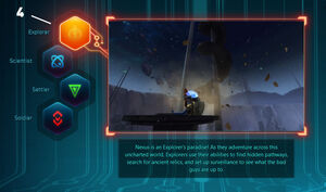 WildStar F2P path selection screen