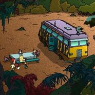 The Wild Thornberrys ComVee at it's Campsite