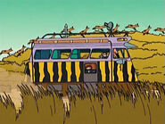 The Wild Thornberrys ComVee passing by tall grass